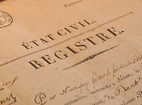 Registre etatcivil